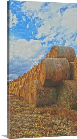 Afternoon Stack Canvas Print