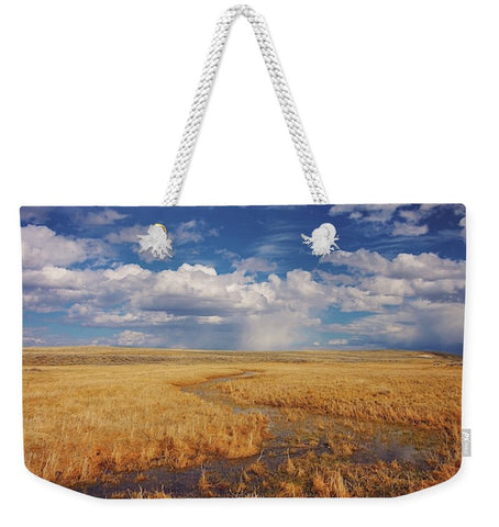 Amber Waves of Gold Weekender Tote bag