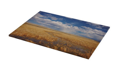 Amber Waves of Gold Cutting Board