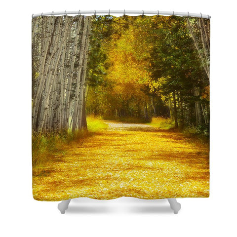 Say You'll Follow Me Shower Curtain