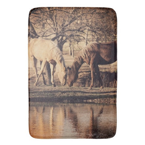 Autumn Reflection Bath Mat