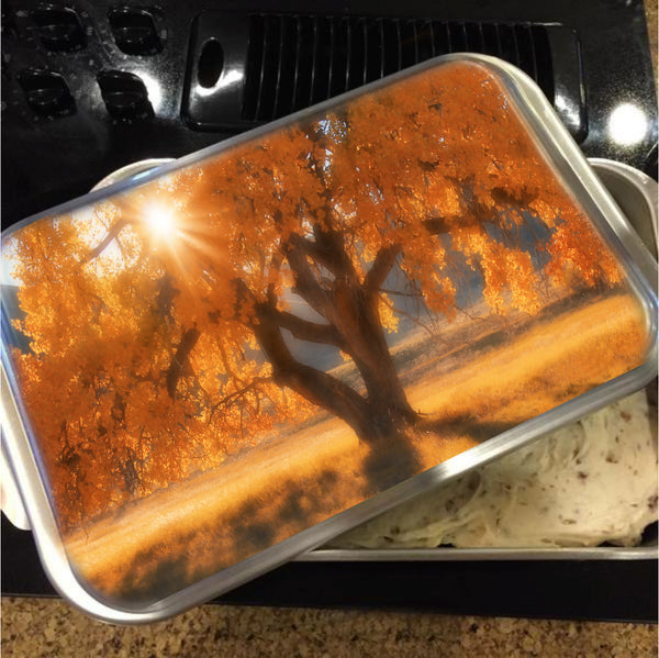 Boxelders Autumn Tree Cake Pan with Lid