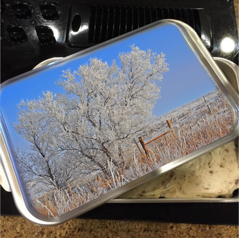 Baby It's Cold Outside Cake Pan with Lid