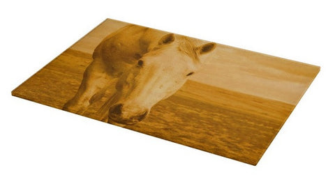 Beggar in Yellow Cutting Board