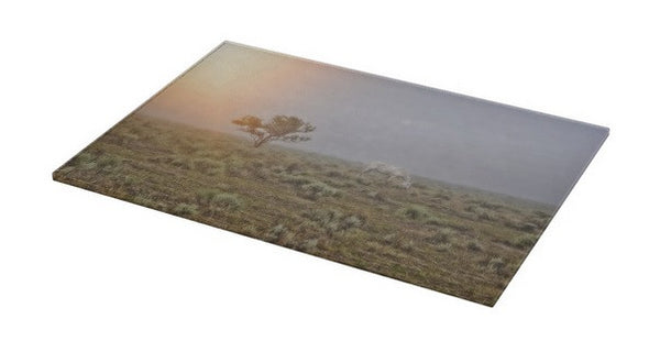 Beggar in the Mist Cutting Board