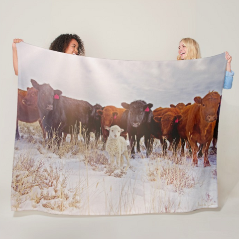 Behold! Fleece Blanket