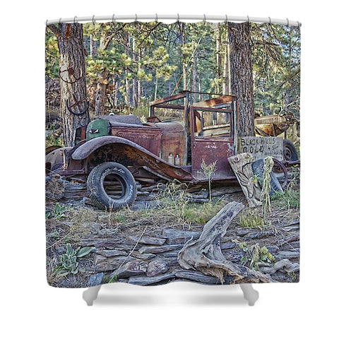 Black Hills Gold Shower Curtain