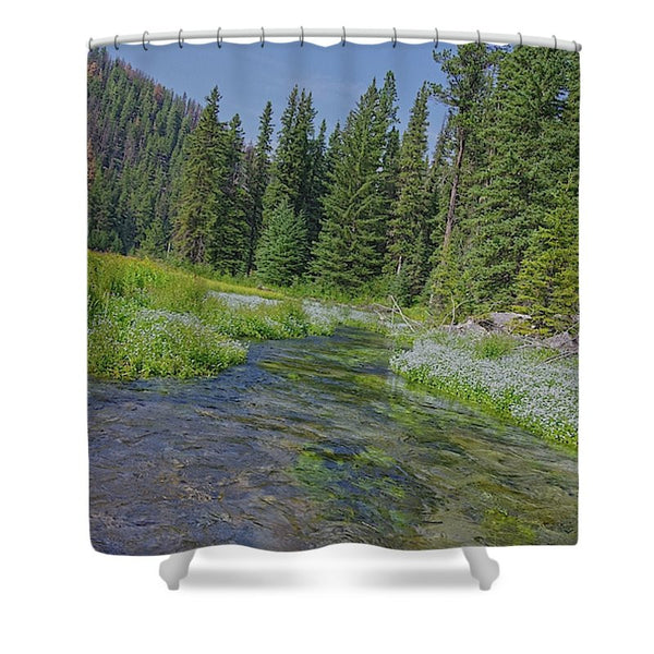 Black Hills Serenity Shower Curtain