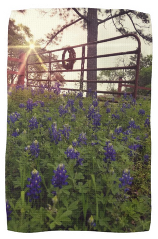 Blue Bonnet Gateway Kitchen Towel
