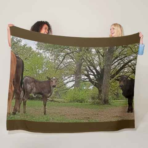 Bookends and Ends Fleece Blanket