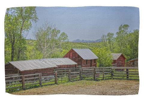 Boxelder Drive Kitchen Towel