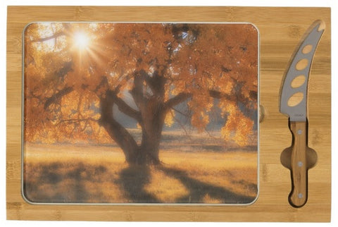 Boxelders Autumn Tree Cheese Board