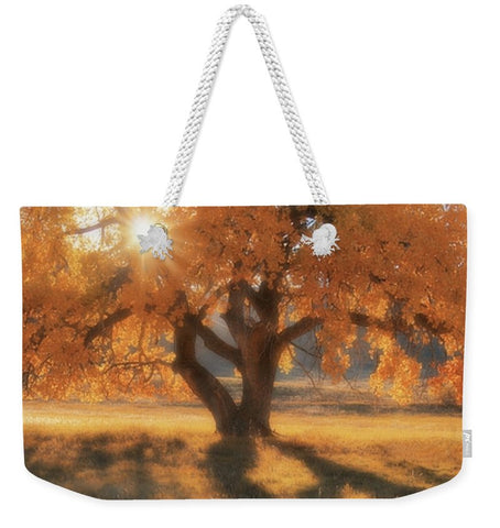 Boxelders Autumn Tree Weekender Tote bag
