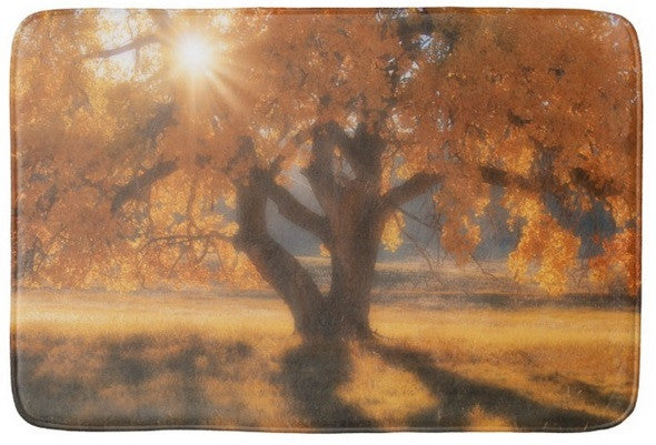 Boxelders Autumn Tree Bath Mat