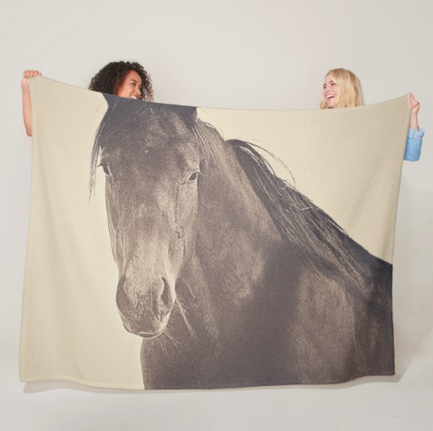 Brazen and Bold Fleece Blanket