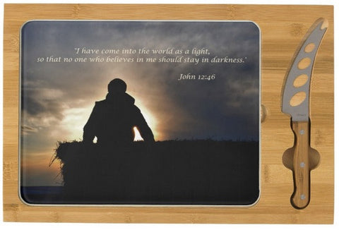 Bucking Hay at Sunrise Inspirational Cheese Board