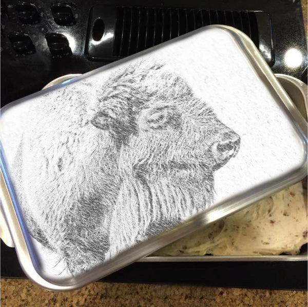 Buffalo Blizzard Cake Pan with Lid
