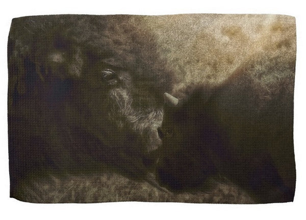 Buffalo Love Kitchen Towel