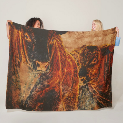 BullTime Fleece Blanket