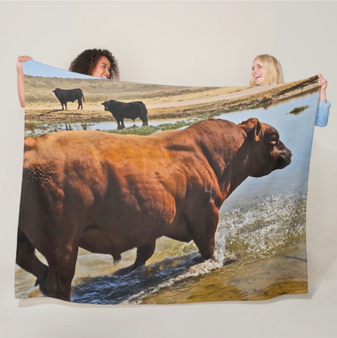 Bullble Bath Fleece Blanket
