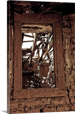 Bunk House Window Canvas Print