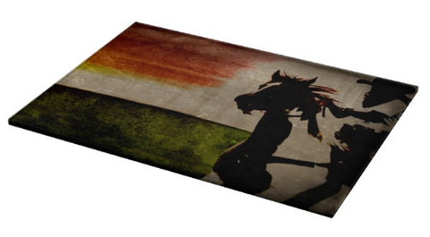 Burning Daylight Cutting Board