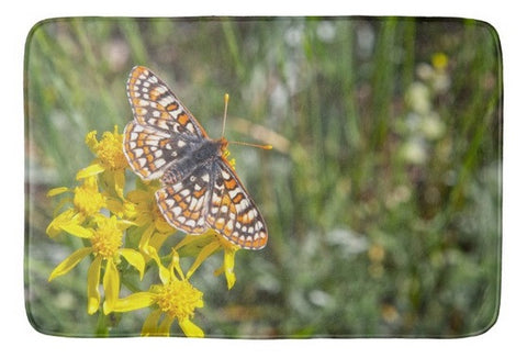 Butterfly in Aspen Bath Mat