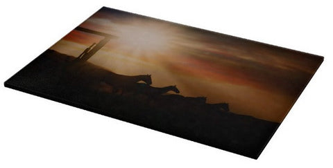 Caballo Sunset Cutting Board