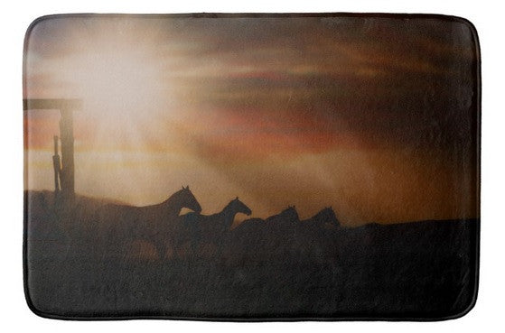 Caballo Sunset Bath Mat