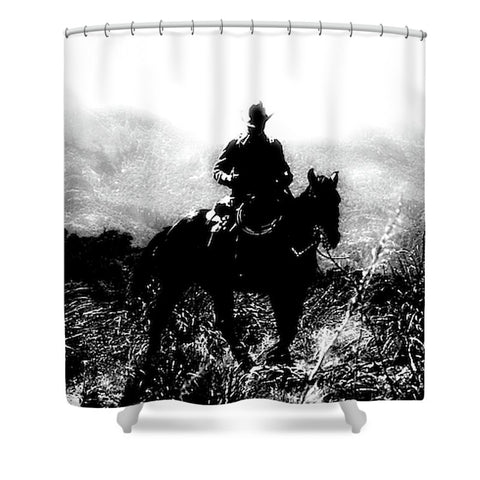 Cattleman Shower Curtain