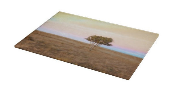 Cedar Tree at Sunset Cutting Board