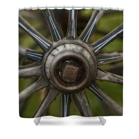 Center of the West Shower Curtain