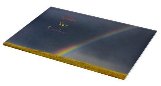 Chase Your Rainbow Cutting Board