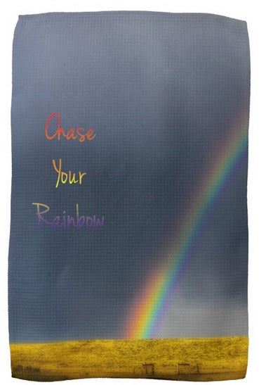 Chase Your Rainbow Kitchen Towel