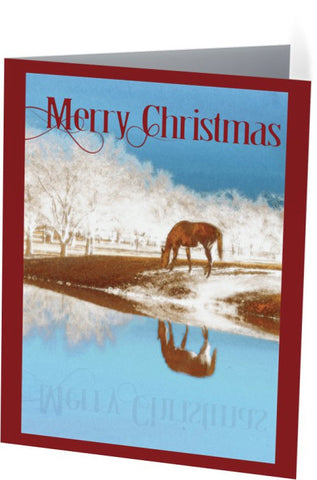 Christmas in the Country Christmas Card (25 Pack)