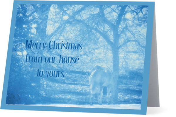 From Our House To Yours Christmas Card (25 Pack)