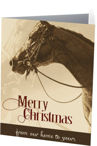 Christmas Horse Christmas Card (25 pack)