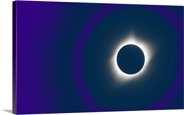 Cosmic Eclipse Canvas Print