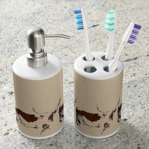 Cosmopolitan Watusi Bathroom Set