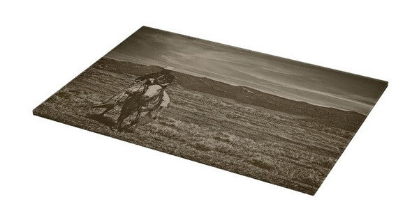 Cowboy Ride Cutting Board