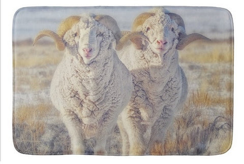 Double the Ram Power Bath Mat