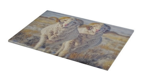 Double the Ram Power Cutting Board