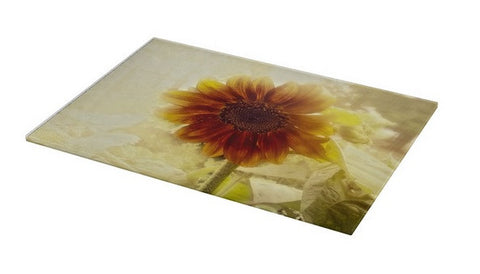 Dusty Retro Sunflower Cutting Board