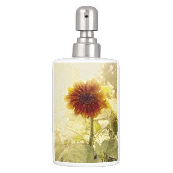 Dusty Retro Sunflower Bathroom Set