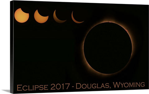 Solar Eclipse 2017 Canvas Prints