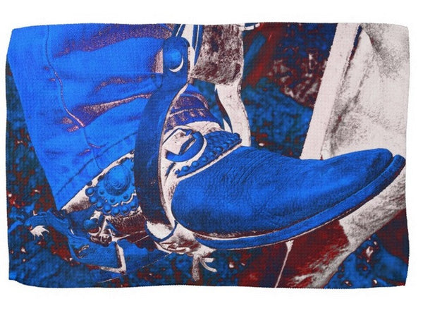 Electric Cowboy Boot Kitchen Towel