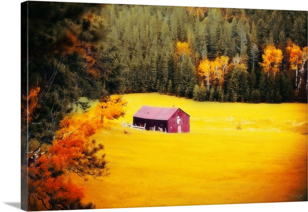 Fall on a South Dakota Meadow Canvas Print