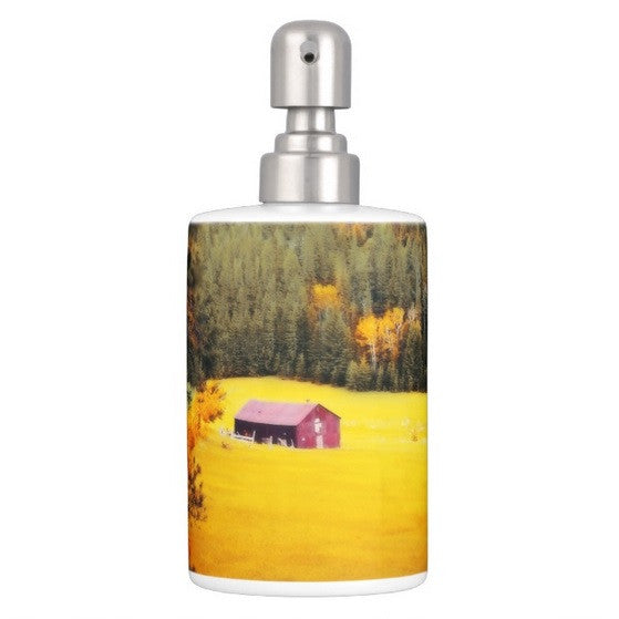 Fall on a South Dakota Meadow Bathroom Set