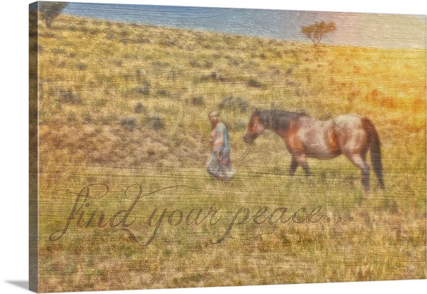 Find Your Peace Canvas Print