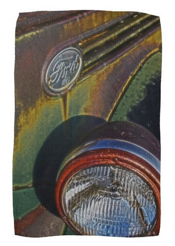 Ford Headlight Kitchen Towel